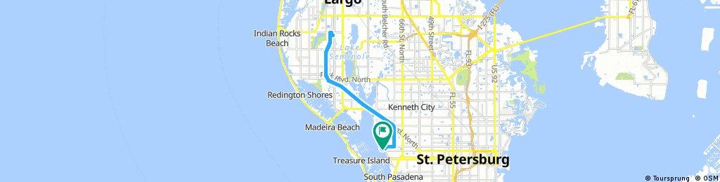 Long bike tour through Saint Petersburg