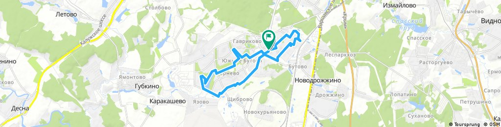 большой круг Yuzhnoye Butovo District