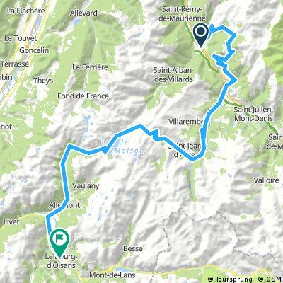 Alpes - La Chambre-Le Bourg d'Oisans