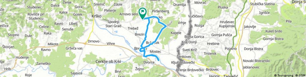 Glogov Brod - Brezice - Cateske - Globoko
