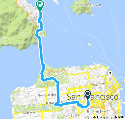 CityRide Hayes Valley to Sausalito