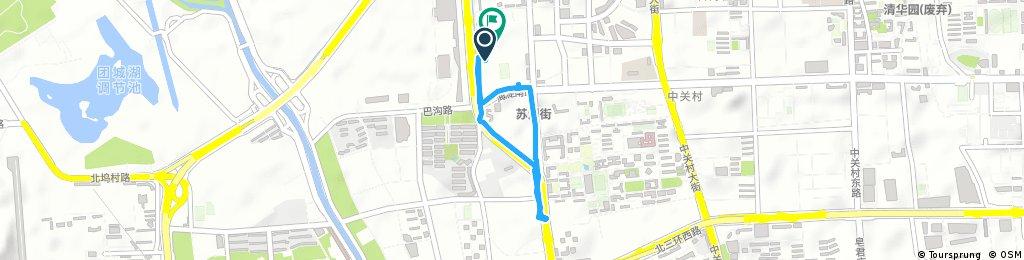 Brief ride through 稻香园南社区