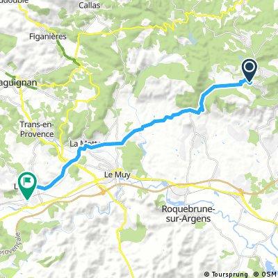 Bagnols-en-Forêt - Les Arcs