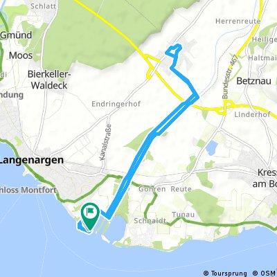 Radrunde BMK  Hafen nach Langenargen / Oberdorf