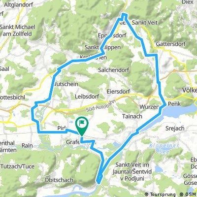 Grafenstein - Kl.St.Veit - Neudenstein
