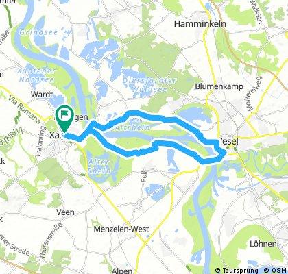 Xanten - Wesel