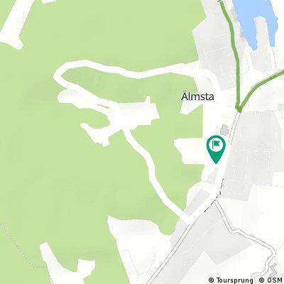 Quick bike tour through Älmsta