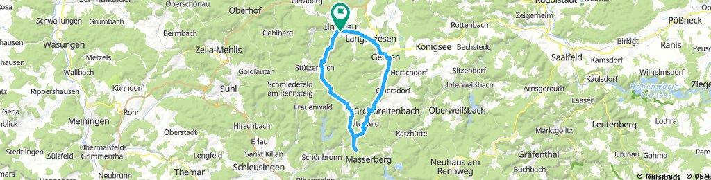 2017-05-28: 29. Radwanderwoche in Ilmenau