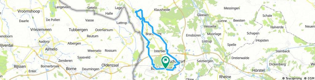 D - Bad Bentheim - Kloster-Tour - 59 km