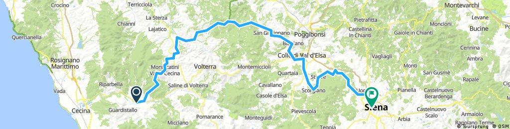 Day 12 Casino di Terra to Siena