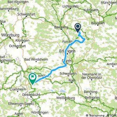 3.Tag Feuchtwangen in Bayern