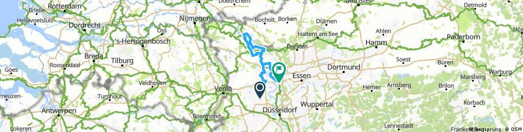 Niederrheintour_ Krefeld - Rees - Duisburg