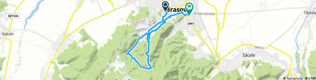 ride through Braşov
