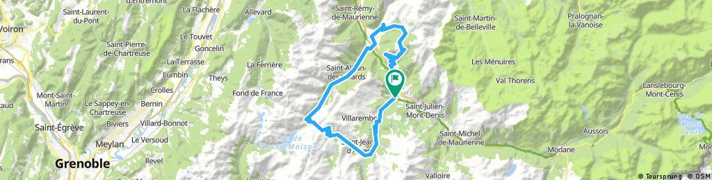 3 Saint Jean de Maurienne Lacettes - Glandon -  Croix de Fer