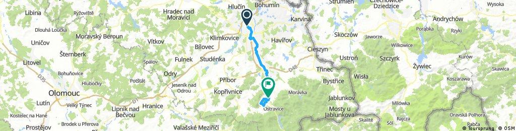 Ostrava-Frýdlant n.O.-Čeladná