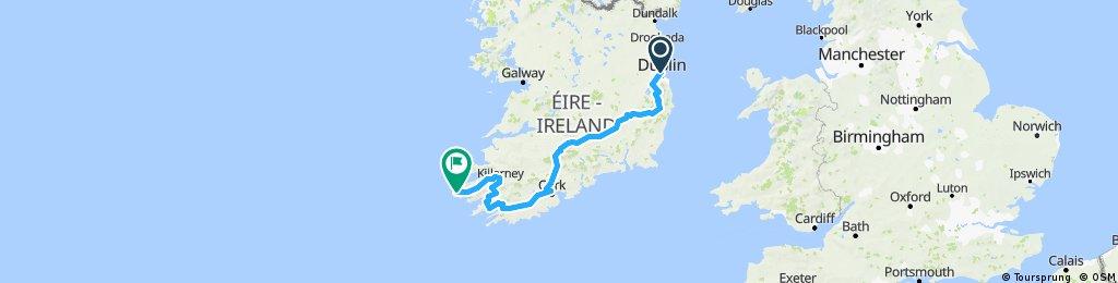 Dublin to Portmagee