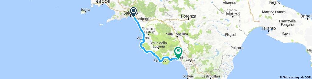 Day 9: Salerno - Sapri