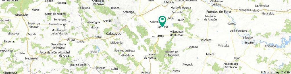 Sierra de Algairen y El Frasno