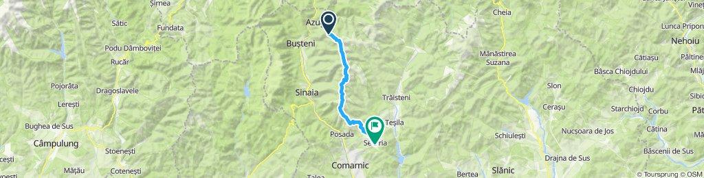 Part 1: Varf Sorica (Azuga)-Saua Cazacu-Saua Bailului-Secaria