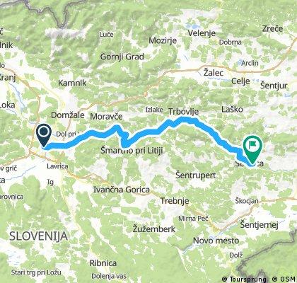 EuroVelo SAVA route - SLO/3