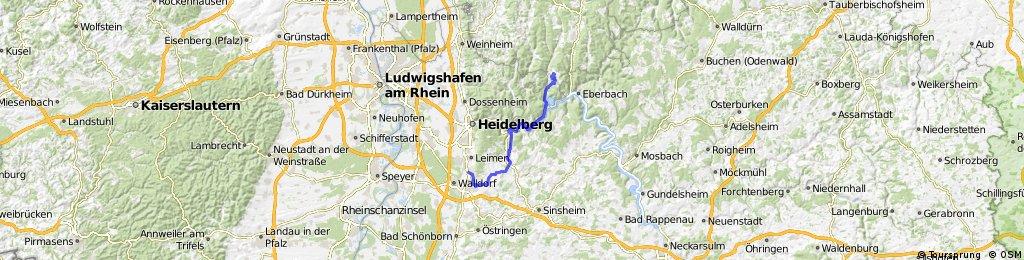 Nussloch - Hirschhorn u.z.