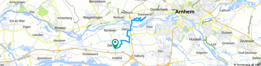 ride through Zetten