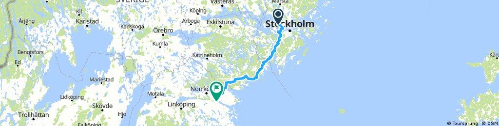 Etapp 1 –Hässelby Vst–Mem 186 km