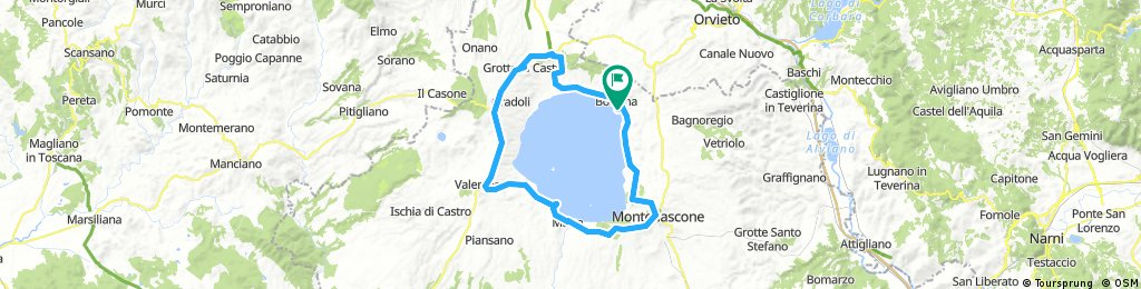 Giro lago Bolsena 2017