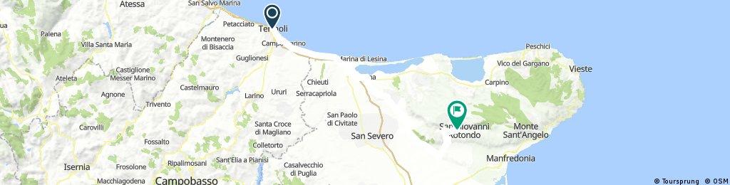 Termoli - Padre Pio 99.400 Km