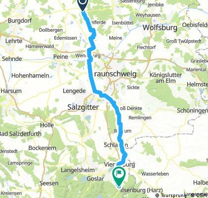 Meinersen - Bad Harzburg 85 KM