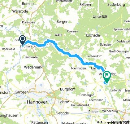 Schwarmstedt-Meinersen 80 KM