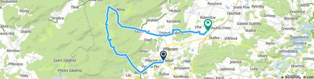 PB-Bohutin-Pilska-Tok-Jordan-Hejlak-Stara Bastina-Obecnice-Dusniky-Obcov-LKPM