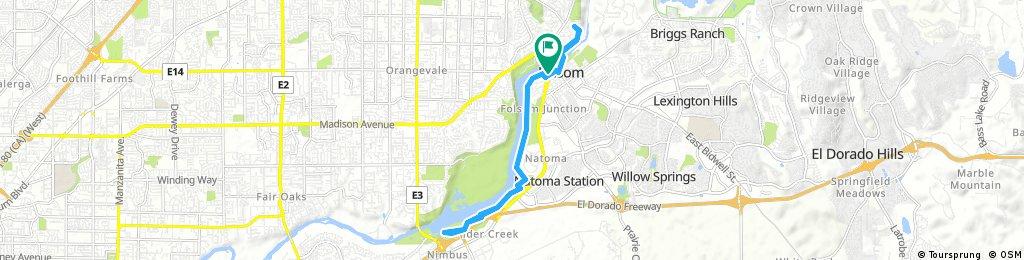 bike tour through Folsom