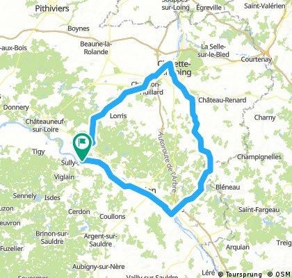 140 - Sully-Montargis-Gien-Sully