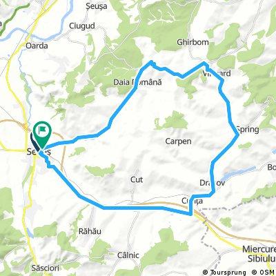 Bike Ride - Biserica evanghelică din Vingard