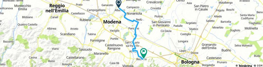 Mantova - Bazzano (incompleta)