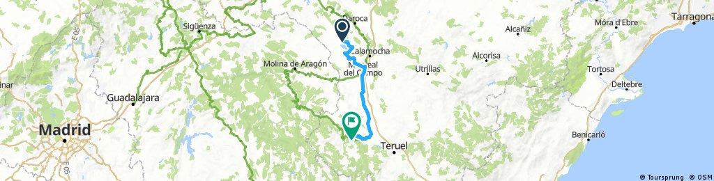 9 Gallocanta - Albarracin 105  Km