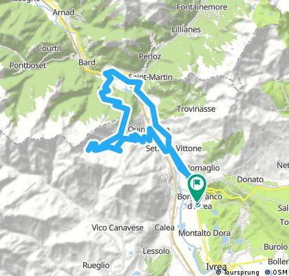 tour donnas alpe chanton scalaro alpe muanda inf quincinetto
