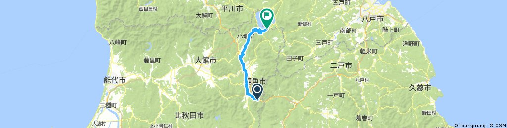 Hotel Towadaso to Yuze Hotel
