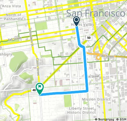 CityRide Hayes Valley to Mission and Castro