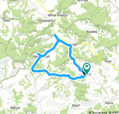 Long Ride From Viscri To Crit, Bunesti And Back
