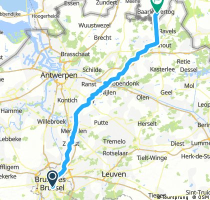 1.) Brüssel - Baarle