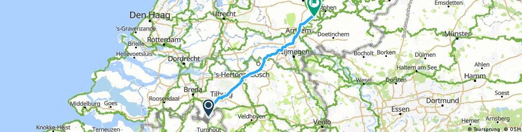 2.) Baarle - Arnhem