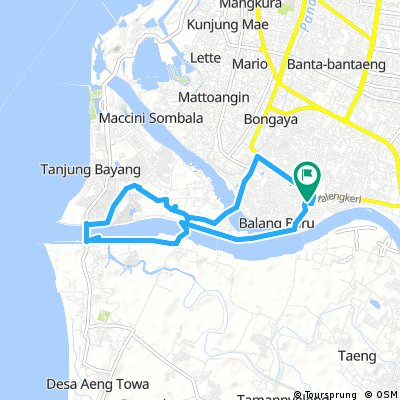 bike tour through jenneberang
