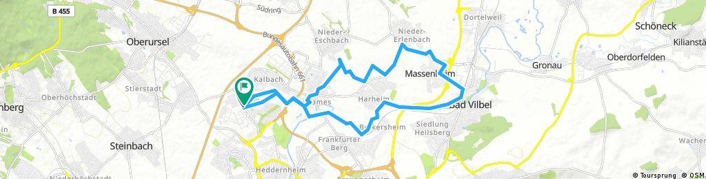 Radrunde durch Frankfurt am Main