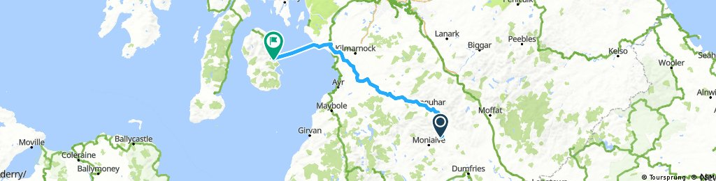 Day 9 - Thornhill to Brodick