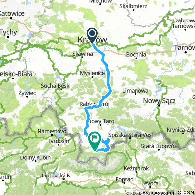Tour de France: Cracovie - Zakopane