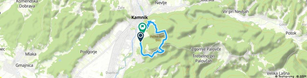 Short ride through Kamnik