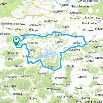 Głogoczów - 85km