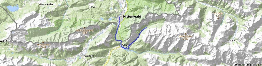 Mittenwald - Larchetalm